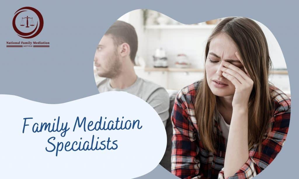 Are you separated after mediation?