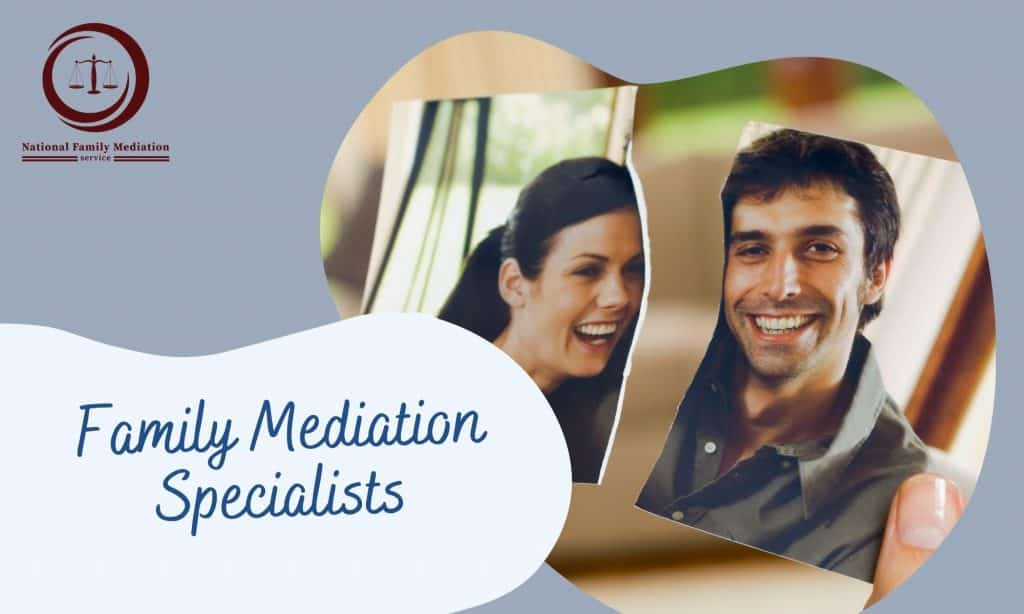 What carries out family mediation entail?